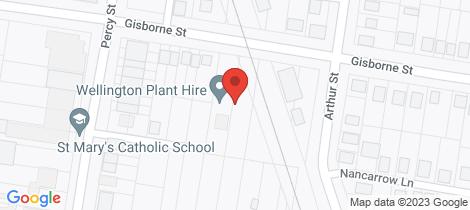 Location map for 69 Gisborne Street Wellington