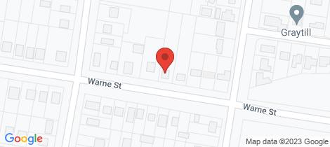 Location map for 144-146 Warne Street Wellington