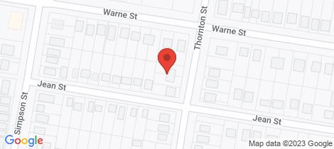 Location map for 41-43 Thornton Street Wellington
