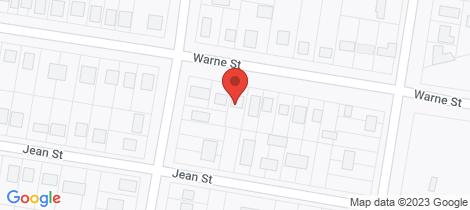 Location map for 123 Warne Street Wellington