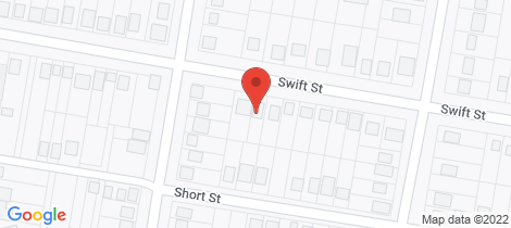 Location map for 107 Swift Street Wellington