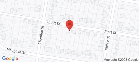 Location map for 13 Short Street Wellington