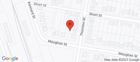 Location map for 71 Thornton Street Wellington