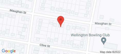 Location map for 91 Maughan Street Wellington