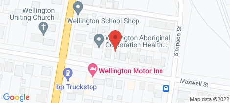 Location map for 32 Maxwell Street Wellington