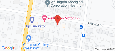 Location map for 43 Maxwell Street Wellington