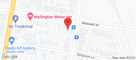 Location map for 51 Maxwell Street Wellington