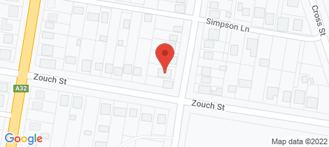 Location map for 123 Simpson Street Wellington