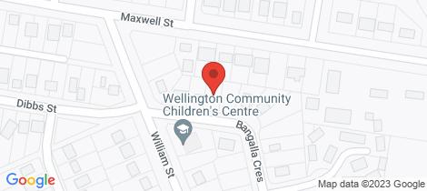 Location map for 6 Bangalla Crescent Wellington