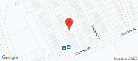 Location map for 164-166 Pierce Street Wellington