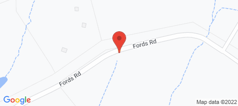 Location map for 109 Fords Road Clarence Town