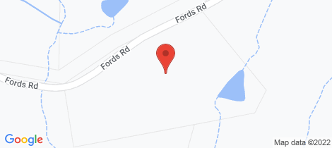 Location map for 88 Fords Road Clarence Town