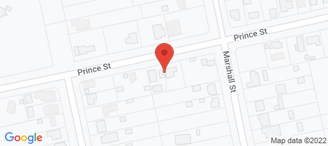 Location map for 70 Prince Street Clarence Town