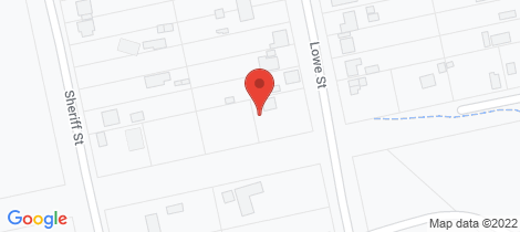 Location map for 17 Lowe Street Clarence Town