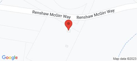 Location map for 827 Renshaw McGirr Way Wellington