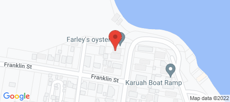 Location map for 3 BUNDABAH STREET Karuah