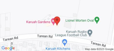 Location map for 355 Tarean Road Karuah