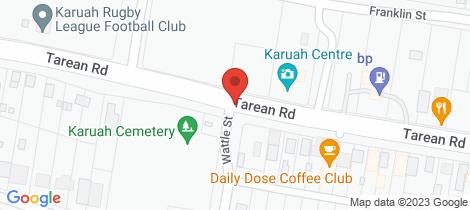 Location map for Lot 8 Gunjula Drive Karuah