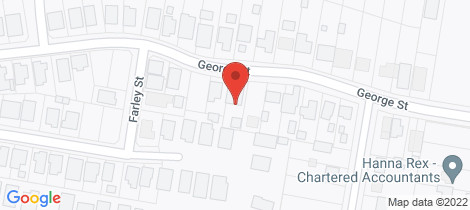 Location map for 17 George Street Karuah