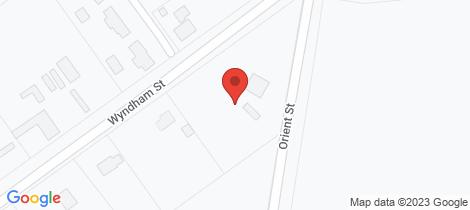 Location map for 85 Wyndham Street Greta