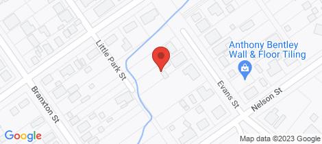 Location map for 14 Evans Street Greta