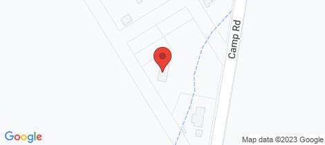 Location map for 373 Camp Road Greta