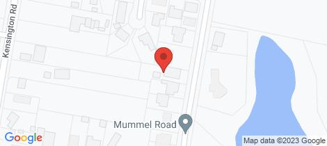 Location map for 28 Maitland Road Bolwarra