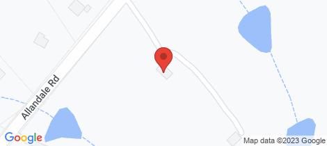 Location map for 121 Allandale Road Allandale