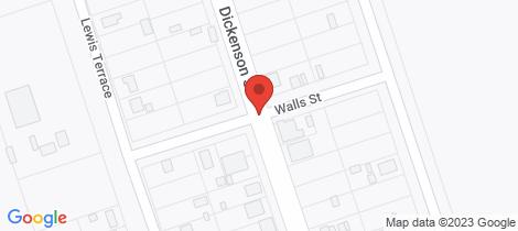Location map for 32-34 WALLS STREET Iron Knob