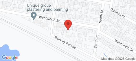 Location map for 48 Wentworth Street Telarah