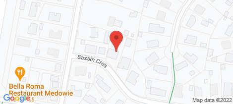 Location map for 3 Sassin Crescent Medowie