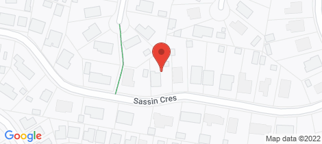 Location map for 13 Sassin Crescent Medowie