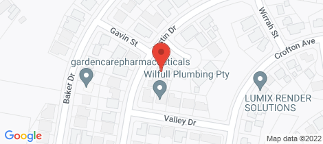 Location map for 9 Justin Drive Tenambit