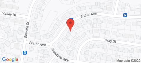 Location map for 34 Frater Avenue Tenambit