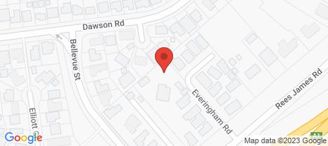 Location map for 11 Everingham Close Raymond Terrace