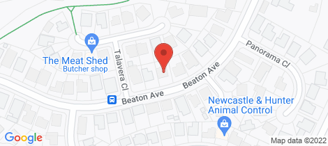 Location map for 54 Beaton Avenue Raymond Terrace