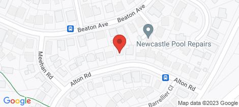 Location map for 93 Alton Road Raymond Terrace