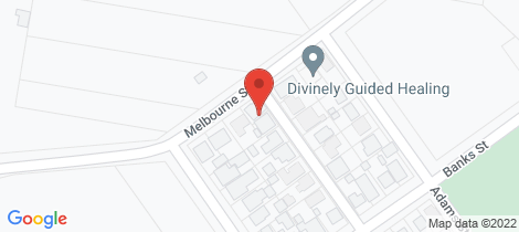 Location map for 180 Melbourne Street East Maitland