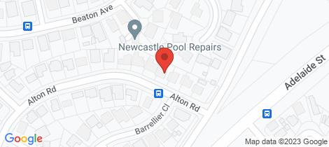 Location map for 103 Alton Road Raymond Terrace