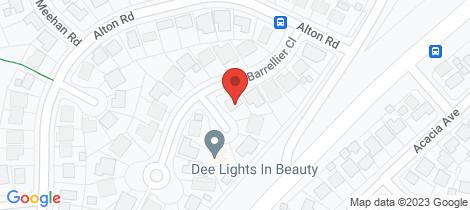 Location map for 11 Barrellier Close Raymond Terrace
