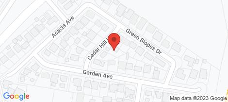 Location map for 6 CEDAR HILL LANE Raymond Terrace