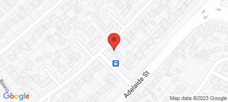Location map for 6 Tregenna Street Raymond Terrace