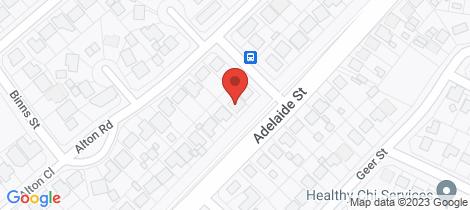 Location map for 58 ALTON ROAD Raymond Terrace