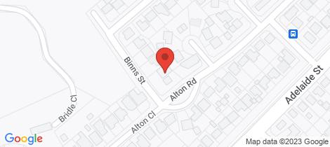 Location map for 19 Alton Close Raymond Terrace