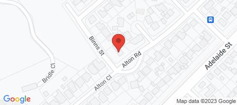 Location map for 2a Alton Road Raymond Terrace