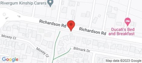 Location map for 103 Richardson Road Raymond Terrace