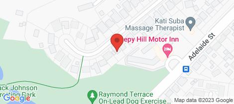 Location map for 20 Alton Road Raymond Terrace