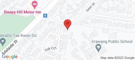 Location map for 2/28 Oak Circuit Raymond Terrace