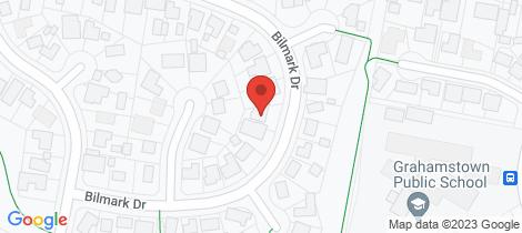 Location map for 42 Bilmark Drive Raymond Terrace