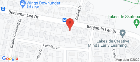 Location map for 103 Benjamin Lee Drive Raymond Terrace